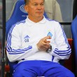 FC Dynamo Kyiv manager Oleg Blokhin — Stock Photo