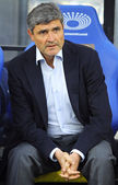 FC Dnipro manager Juande Ramos — Stock Photo