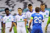 Football game FC Dynamo Kyiv vs FC Dnipro — Stock Photo