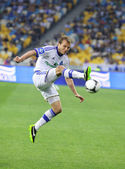 Oleg Gusev of FC Dynamo Kyiv — Stock Photo