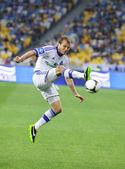 Oleg Gusev of FC Dynamo Kyiv — Stock Photo