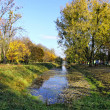 Central Park of Lutsk city in early autumn — Stock Photo