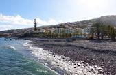 Strand in santa cruz, insel madeira, portugal — Stockfoto