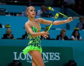 Rhythmic Gymnastics World Championship — Stock Photo
