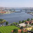 Panoramic view of Istanbul city, Turkey — Stock Photo