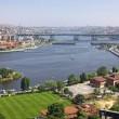 Panoramic view of Istanbul city, Turkey — Stock Photo
