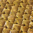 Traditional Turkish baklava dessert — Stock Photo