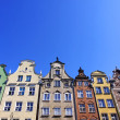 Colourful old buildings in City of Gdansk, Poland — Stock Photo