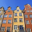 Colourful old buildings in City of Gdansk, Poland — Stock Photo #32276681