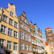 Colourful old buildings in City of Gdansk, Poland — Stock Photo #32441547