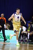 Darjus Lavrinovic of Budivelnik — Stock Photo