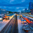 Freiburg Hauptbahnhof railway station, Germany — Stock Photo #33821115