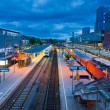 Freiburg Hauptbahnhof railway station, Germany — Stock Photo