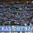 Dynamo Kyiv ultrsupporters — Stock Photo #34409147