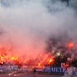 Dynamo Kyiv ultra supporters — Stock Photo
