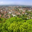Panoramic view of Freiburg im Breisgau city, Germany — Stock Photo