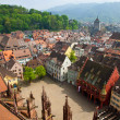 Buildings in Freiburg im Breisgau city, Germany — Stock Photo