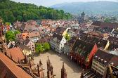 Buildings in Freiburg im Breisgau city, Germany — Stock Photo