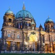 Berlin Cathedral (Berliner Dom) at evening — Stock Photo