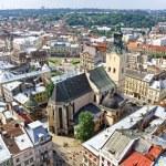 Lviv old town, Ukraine — Stock Photo #37550925
