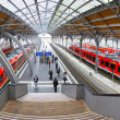 Lubeck Hauptbahnhof railway station, Germany — Stock Photo #38519137