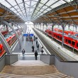 Lubeck Hauptbahnhof railway station, Germany — Stock Photo