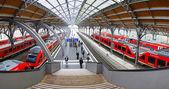Lubeck Hauptbahnhof railway station, Germany — Stock Photo