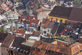 Buildings in Freiburg im Breisgau, Germany — Stock Photo