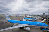 Amsterdam Airport Schiphol, the main international airport of th — Foto Stock
