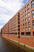 Speicherstadt warehouse district in Hamburg, Germany — Stock Photo