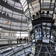 Glass Dome on the top of Reichstag (Bundestag) building — Stock Photo