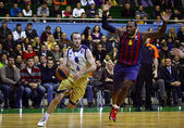Euroleague Basketball Spiel Budivelnik Kyiv vs. Fc Barcelona — Stockfoto