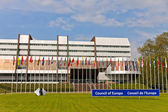 Parliamentary Assembly of the Council of Europe — Stock Photo