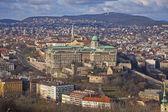 Buda Castle district, Budapest, Hungary — Stock Photo