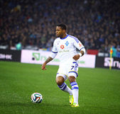 Jeremain Lens of FC Dynamo Kyiv — Stock Photo