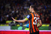 Dario Srna of FC Shakhtar Donetsk — Stock Photo