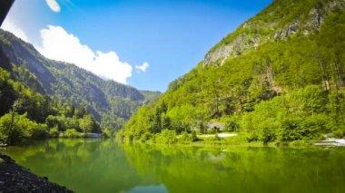 Sava bohinjka rzeki, alpy julijskie, słowenia — Wideo stockowe