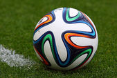 Close-up official FIFA 2014 World Cup ball (Brazuca) — Stock Photo