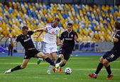 Football game FC Dynamo Kyiv vs Zorya Luhansk — Stock Photo