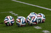 Official FIFA 2014 World Cup balls (Brazuca) — Stock Photo