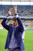 Goalkeeper Oleksandr Shovkovskyi of Dynamo Kyiv — Stock Photo