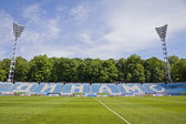 Dynamo Stadium named after Valeriy Lobanovskyi in Kiev — Stock Photo