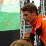 Netherlands football team fans — Stock Photo #48859085