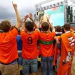 Netherlands football team fans — Stock Photo #48859237