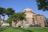 圣索非亚大教堂艾琳教会在伊斯坦布尔托普卡匹宫公园 — 图库照片