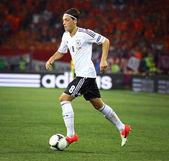 Mesut Ozil of Germany controls a ball — Stock Photo