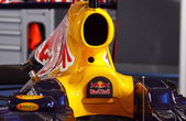 Red Bull RB7 racing car — Stock Photo