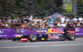 Conductor daniel ricciardo de red bull racing team — Foto de Stock