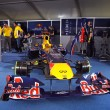 Постер, плакат: Red Bull RB7 racing car