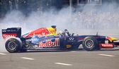 Driver Daniel Ricciardo of Red Bull Racing Team — Stock Photo